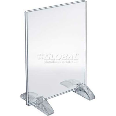 "Azar Displays 132733 Vertical/Horizontal Dual-Stand Sign Holder, 5.5"" x 8.5"""
