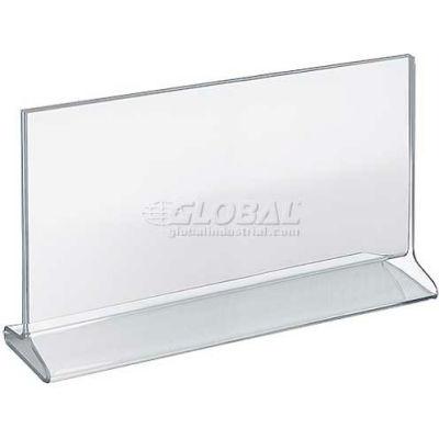 "Azar Displays 142718 Horizontal Top Load Acrylic Sign Holder, 11"" x 7"""