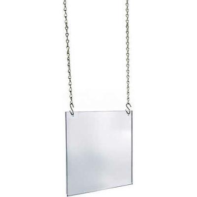 "Azar Displays 172710 Acrylic Hanging Poster Frame, 11"" x 14"", Acrylic"