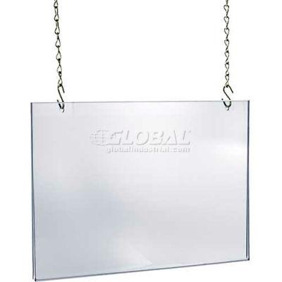 "Azar Displays 172722 Acrylic Hanging Poster Frame, 28"" x 22"", Acrylic ,1 Piece"