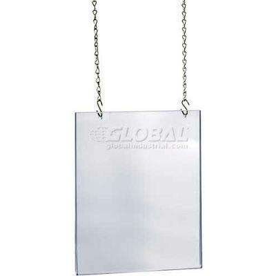 "Azar Displays 172737 Acrylic Hanging Poster Frame, 17"" x 22"", Acrylic ,1 Piece"