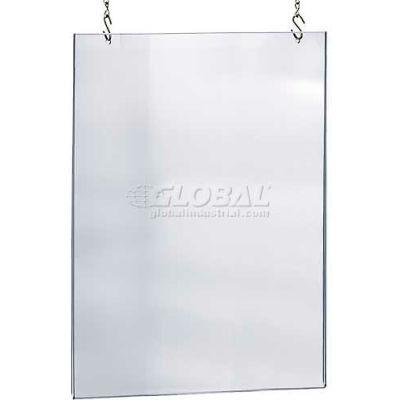 "Azar Displays 172740 Acrylic Hanging Poster Frame, 30"" x 40"", Acrylic ,1 Piece"