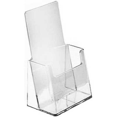 Azar Displays 252012-100pk Countertop Tri-Fold Brochure Holder, 100-Pack