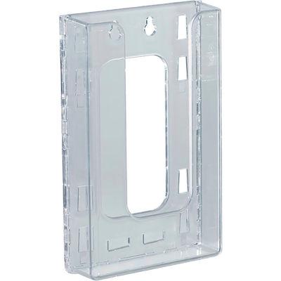 "Azar Displays 252328 Single Tri-Fold Wall Mount Brochure Holder, 4.625"" x 7.875"""