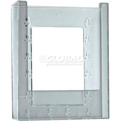 "Azar Displays 252329 Single Bi-Fold Wall Mount Brochure Holder, 6.25"" x 7.875"""