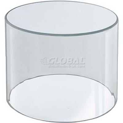 "Azar Displays 556404 Acrylic Cylinder, 4"" x 4"", Clear ,1 Piece"
