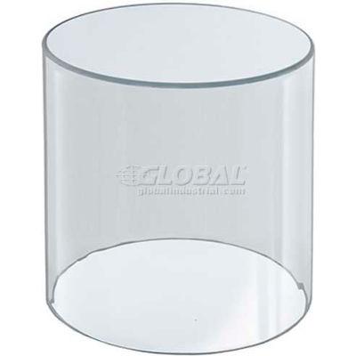 "Azar Displays 556406 Acrylic Cylinder, 4"" x 6"", Clear ,1 Piece"
