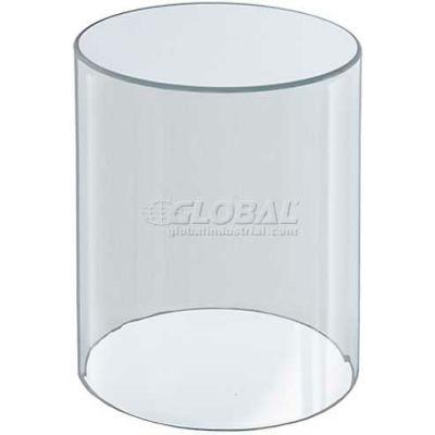 "Azar Displays 556408 Acrylic Cylinder, 4"" x 8"", Clear ,1 Piece"