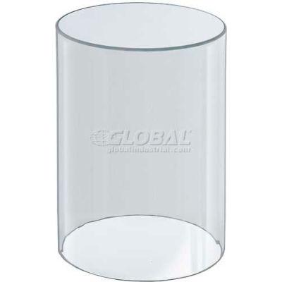 "Azar Displays 556610 Acrylic Cylinder, 6"" x 10"", Clear ,1 Piece"