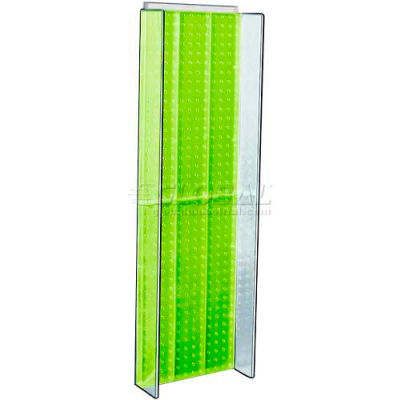 "Azar Displays 700350-GRE Pegboard Powering, 13.75"" x 44"", Green ,1 Piece"