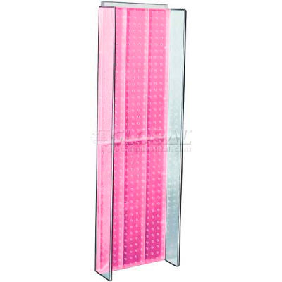 "Azar Displays 700350-PNK Pegboard Powering, 13.75"" x 44"", Pink ,1 Piece"