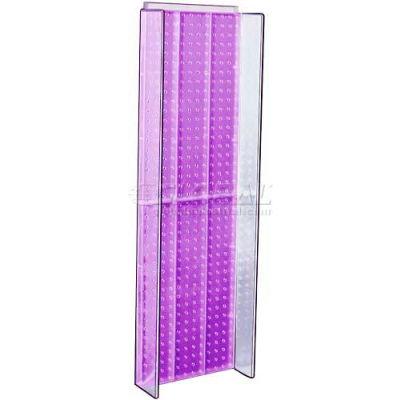 "Azar Displays 700350-PUR Pegboard Powering, 13.75"" x 44"", Purple ,1 Piece"