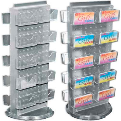 "Azar Displays 700505-BLU, Pegboard Gift Card Display, 8""W x 20""H, BL, 1 Pc"