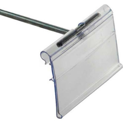 "Azar Displays 700842 Flip Scan Label Holder, 1.5"" x 2"""