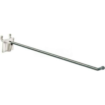 """Azar Displays 701212 12"""" Attached Back Wire Hook 0.187"""" Diameter"""