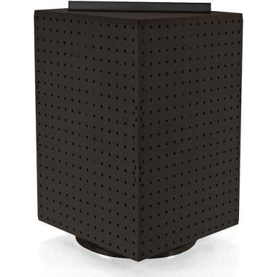 """Azar Displays 701414-BLK Interlocking Pegboard Countertop Display, 14"""" x 20"""", Black Solid ,1 Piece"""
