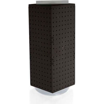 "Azar Displays 703385-BLK Interlocking Pegboard Countertop Display, 8"" x 20"", Black ,1 Piece"