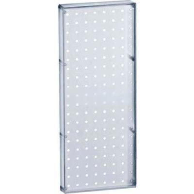 "Azar Displays 770820-CLR Pegboard Wall Panel, 8"" x 20"""