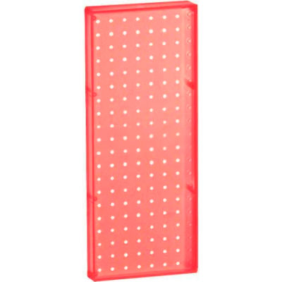 "Azar Displays 770820-RED Pegboard Wall Panel, 8"" x 20"""