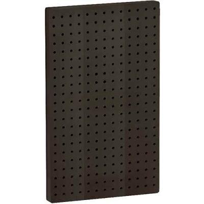 "Azar Displays 771322-BLK Pegboard Wall Panel, 13.5"" x 22"", Black Solid"