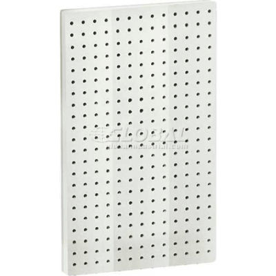 """Azar Displays 771322-WHT Pegboard Wall Panel, 13.5"""" x 22"""", White Solid"""