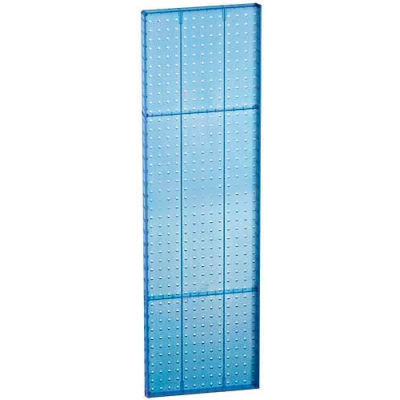 "Azar Displays 771344-BLU Pegboard Wall Panel, 13.5"" x 44"""