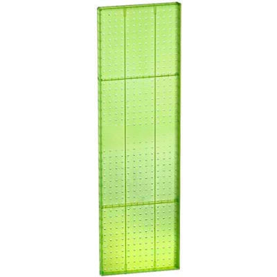 "Azar Displays 771344-GRE Pegboard Wall Panel, 13.5"" x 44"""