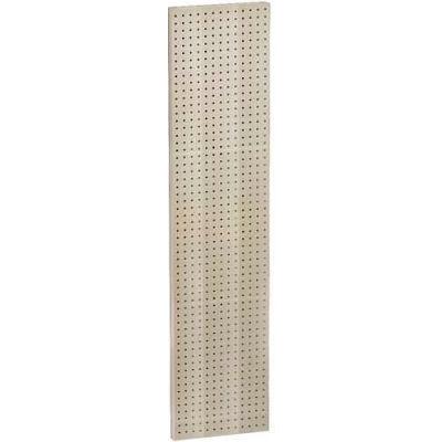 "Azar Displays 771360-ALM Pegboard Wall Panel, 13.5"" x 60"" - Almond Solid"