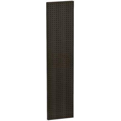 "Azar Displays 771360-BLK Pegboard Wall Panel, 13.5"" x 60"" - Black Solid"