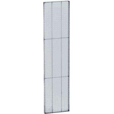 "Azar Displays 771360-CLR Pegboard Wall Panel, 13.5"" x 60"", Clear Opaque"