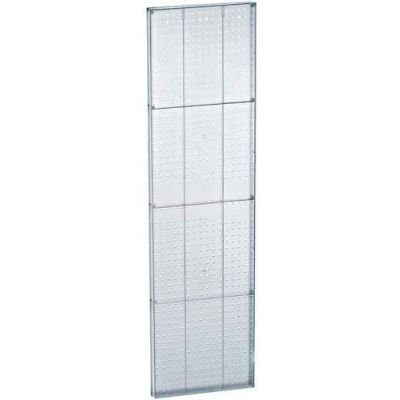 "Azar Displays 771660-CLR Clear Pegboard Wall Panel, 16"" x 60"""