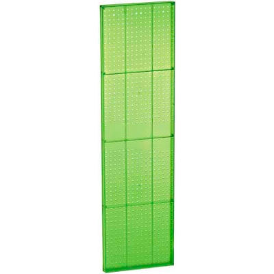 "Azar Displays 771660-GRE Green Pegboard Wall Panel, 16"" x 60"""
