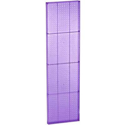 "Azar Displays 771660-PUR Purple Pegboard Wall Panel, 16"" x 60"""