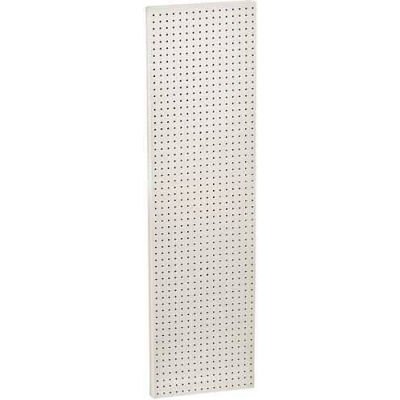 "Azar Displays 771660-WHT White Pegboard Wall Panel, 16"" x 60"""
