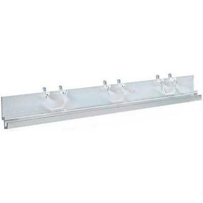 """Azar Displays 900051 Acrylic J-Bar System, 13.5"""" Wide, Clear"""