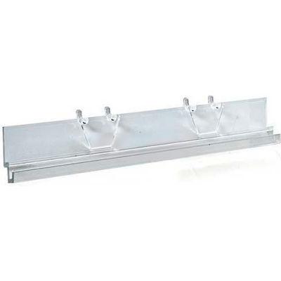 """Azar Displays 900052 Acrylic J-Bar System, 8"""" Wide, Clear"""