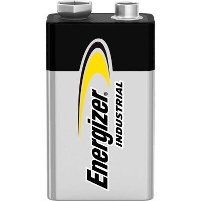 Piles alcalines de9 VEnergizer Industrial EN22, qté par paquet : 12