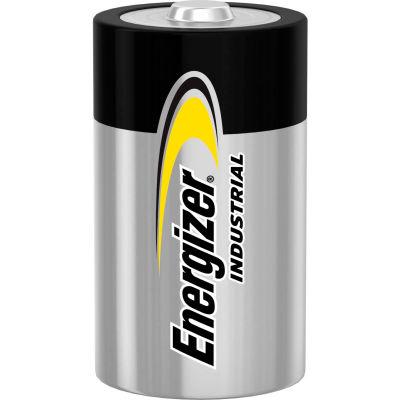 Piles alcalines Energizer industriel EN95 D, qté par paquet : 12