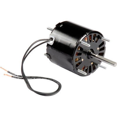 "Fasco D132, 3.3"" Shaded Pole Open Motor - 115 Volts 1500 RPM"