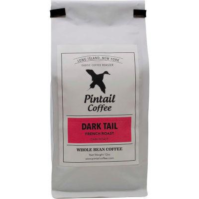 Pintail Coffee Dark Tail French Roast Coffee, Dark Roast, 12 oz, - Pkg Qty 20
