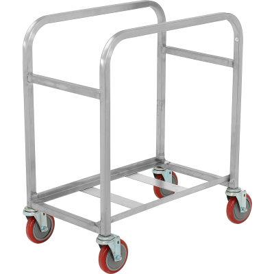 "Winholt Mobile Stainless Steel Lug Cart SS-L-2 Capacity 2 Lug, 25""L x 16""W x 33""H, No Lugs"