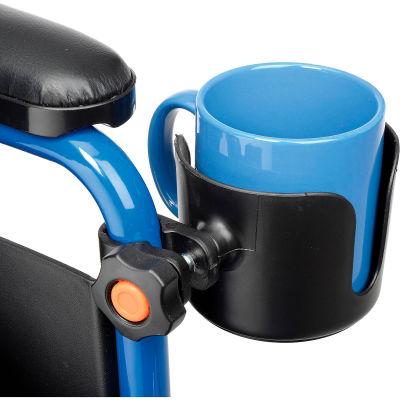 "Drive Medical Universal Cup Holder, 3"" Wide, 1/PK"