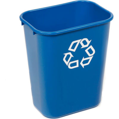 Corbeille pour recyclage Rubbermaid®, 41-1/4pintes