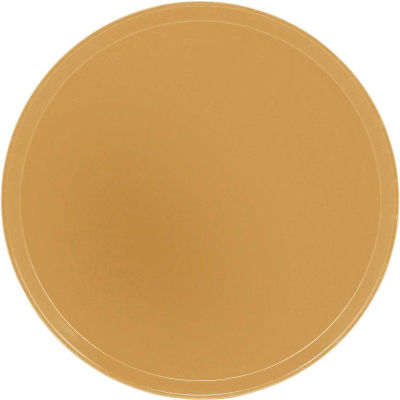"Cambro 1550514 - Camtray 15.5"" Round Low,  Earthen Gold - Pkg Qty 12"