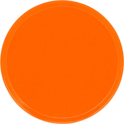 "Cambro 1600220 - Camtray 16"" Round,  Citrus Orange - Pkg Qty 12"