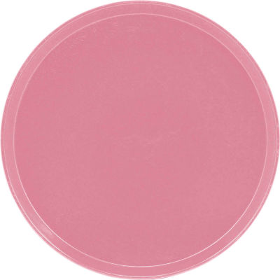 "Cambro 1550409 - Camtray 15.5"" Round Low,  Blush - Pkg Qty 12"