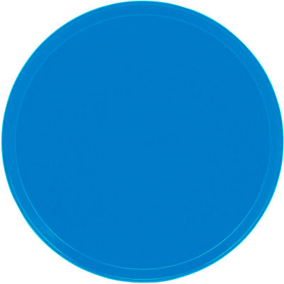 "Cambro 1550105 - Camtray 15.5"" Round Low,  Horizon Blue - Pkg Qty 12"