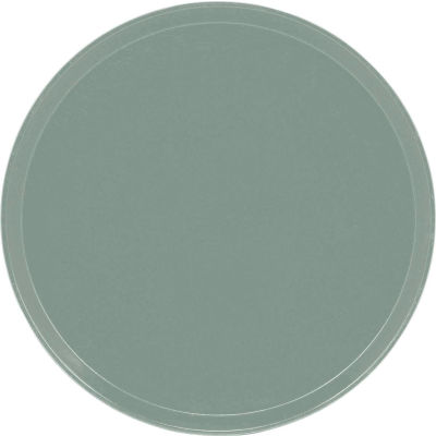 "Cambro 1550107 - Camtray 15.5"" Round Low,  Pearl Gray - Pkg Qty 12"