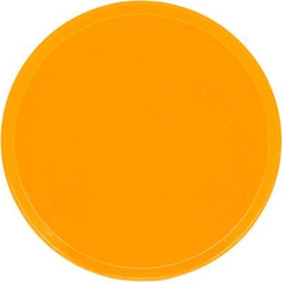 "Cambro 1600504 - Camtray 16"" Round,  Mustard - Pkg Qty 12"