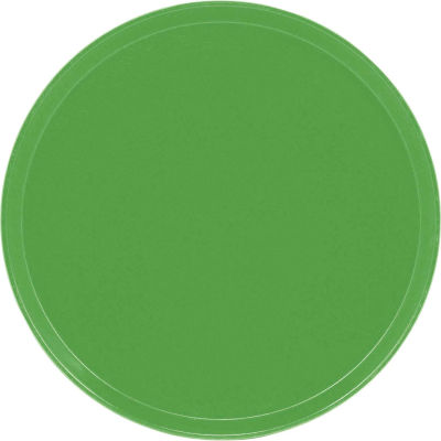 """Cambro 1550113 - Camtray 15.5"""" Round Low,  Lime-Ade - Pkg Qty 12"""